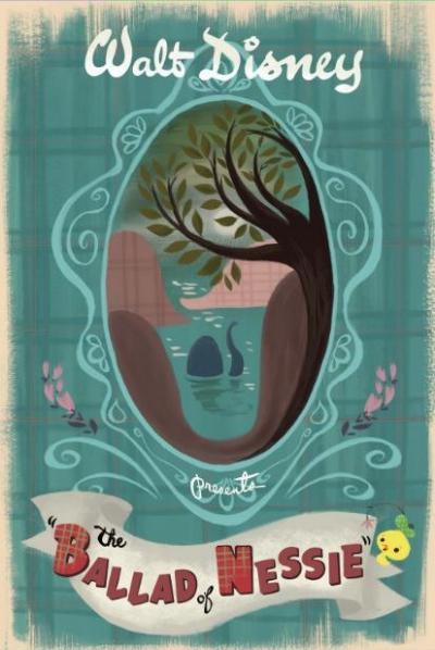 L'affiche de La Ballade de Nessie