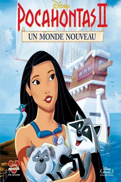 L'affiche de Pocahontas 2: un monde nouveau