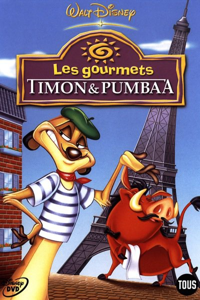 L'affiche de Timon et Pumbaa - Les gourmets