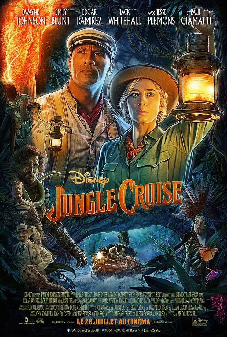 L'affiche de Jungle Cruise