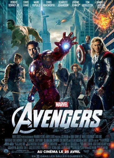 L'affiche de Avengers