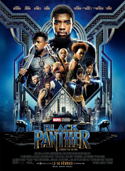L'affiche de Black Panther