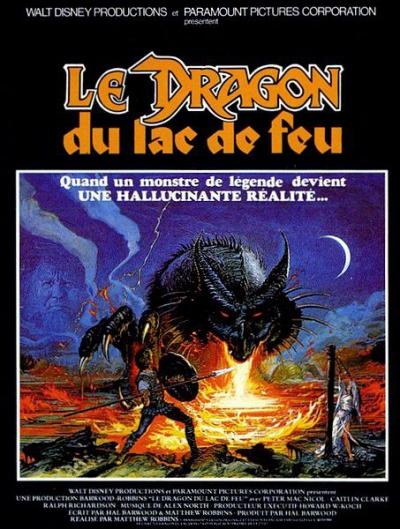 L'affiche de Le Dragon du Lac de Feu