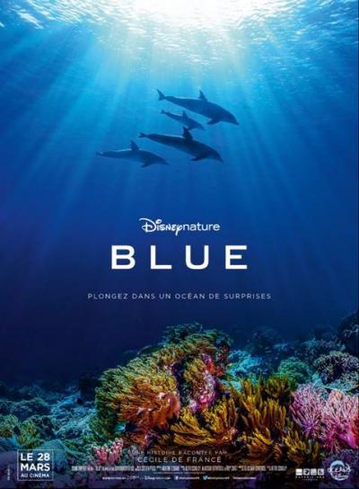 L'affiche de Blue