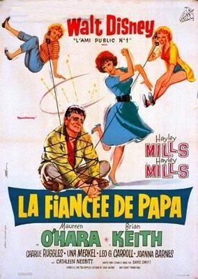 L'affiche de La Fiancée de papa