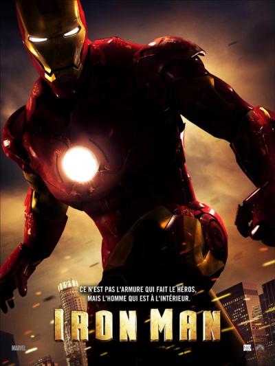 L'affiche de Iron Man