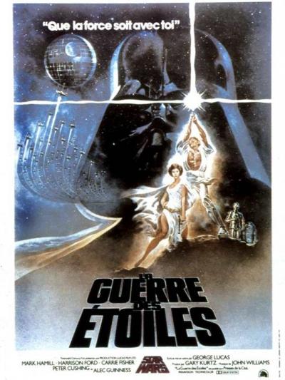 L'affiche de Star Wars, épisode IV: Un nouvel espoir