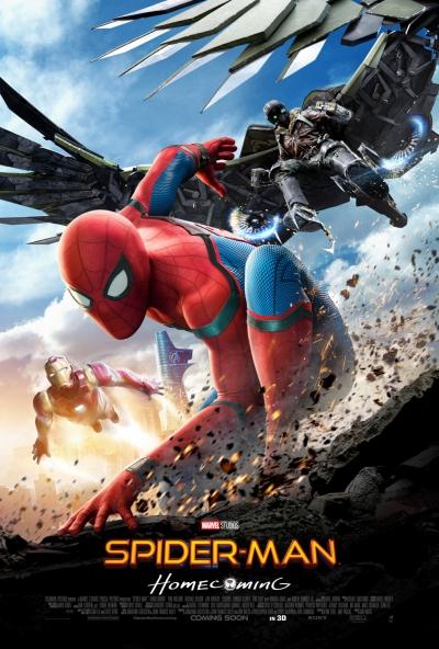 L'affiche de Spider-Man: Homecoming