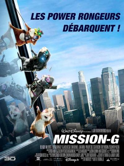 L'affiche de Mission-G