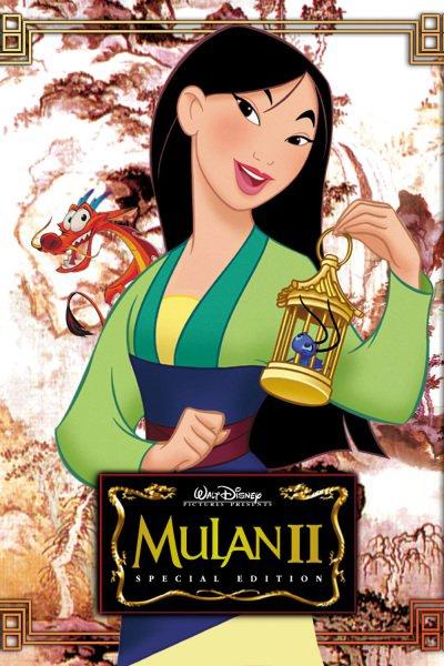 L'affiche de Mulan 2: la mission de l'empereur