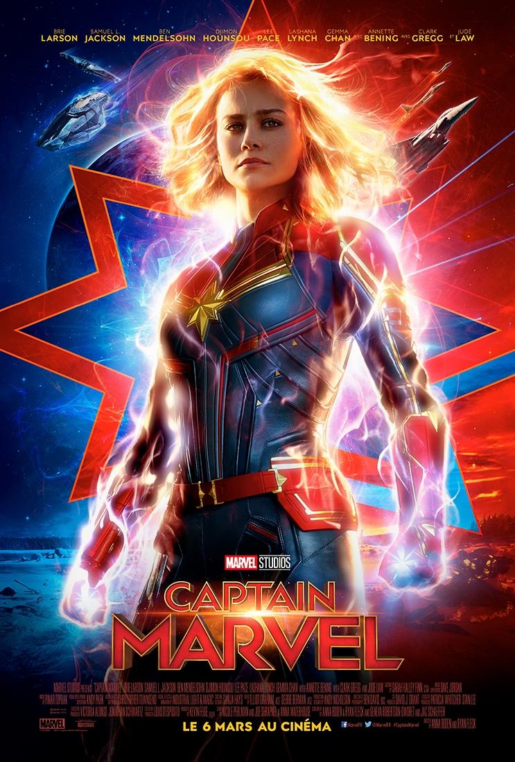 L'affiche de Captain Marvel