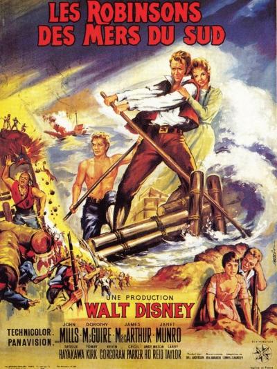 L'affiche de Les Robinsons des mers du Sud