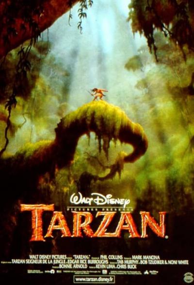 L'affiche de Tarzan