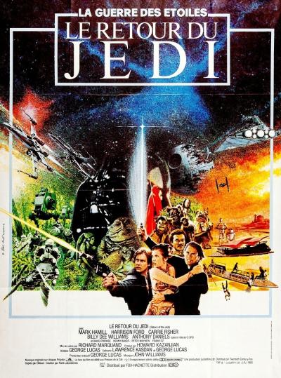 L'affiche de Star Wars, épisode VI: Le Retour du Jedi