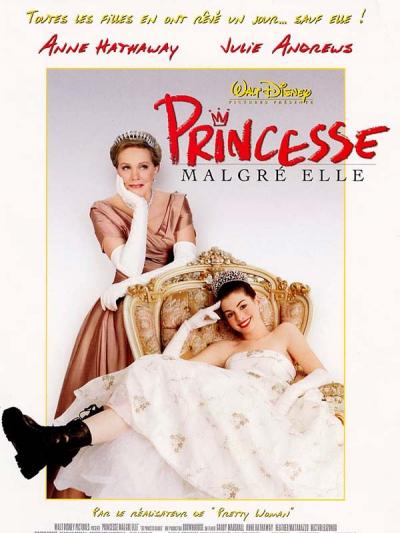 L'affiche de Princesse malgré elle