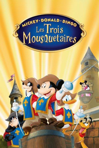 L'affiche de Mickey, Donald, Dingo - Les trois mousquetaires
