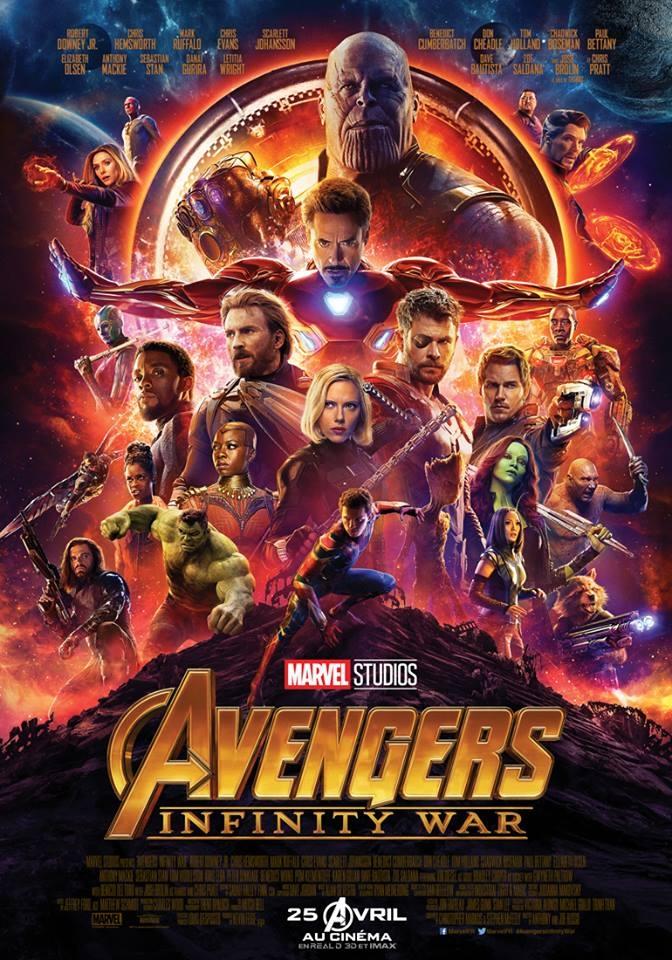 L'affiche de Avengers: Infinity War