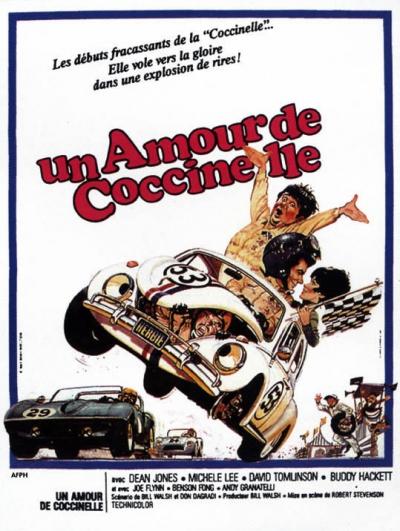 L'affiche de Un amour de Coccinelle