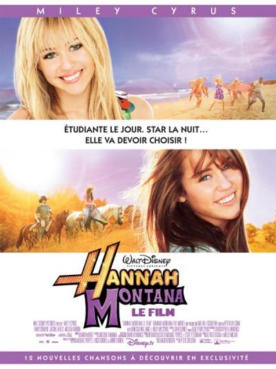 L'affiche de Hannah Montana, le film