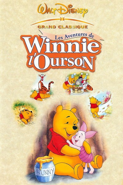 L'affiche de Les Aventures de Winnie l'Ourson