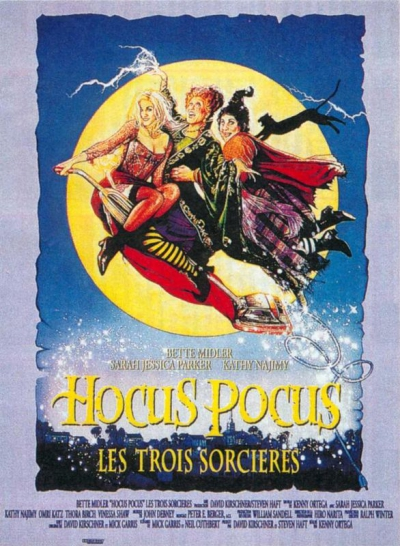 L'affiche de Hocus Pocus: Les Trois Sorcières
