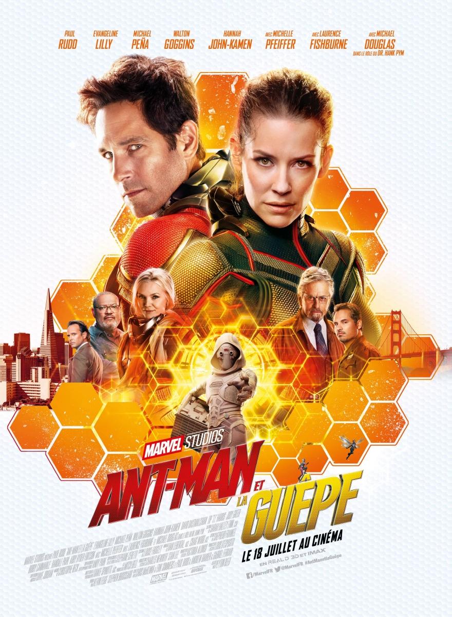 L'affiche de Ant-Man et la Guêpe