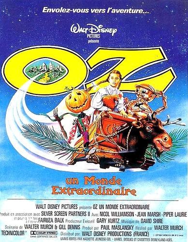 L'affiche de Oz, un monde extraordinaire