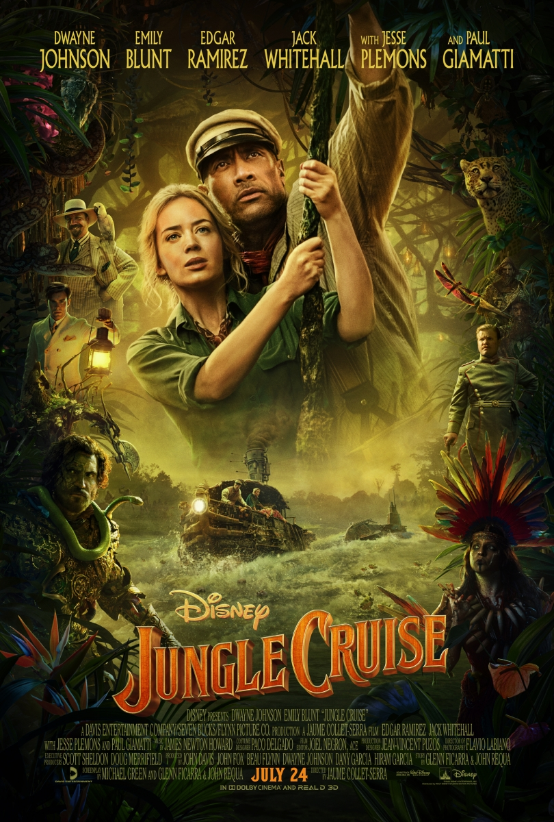 L'affiche de Jungle Cruise