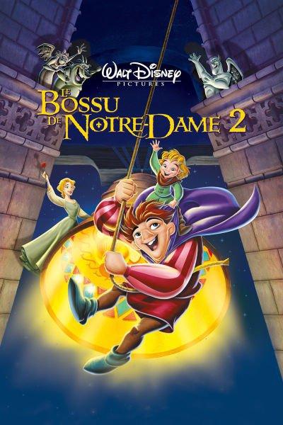 L'affiche de Le Bossu de Notre-Dame 2: le secret de Quasimodo