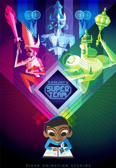 L'affiche de Sanjay et sa super équipe