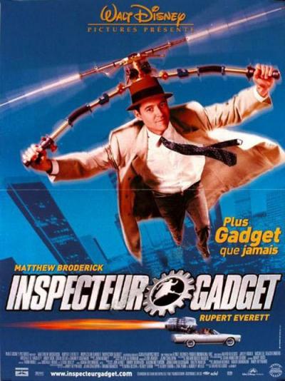 L'affiche de Inspecteur Gadget