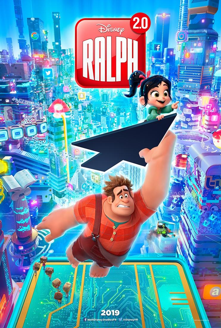 L'affiche de Raph 2.0: À la conquête du web