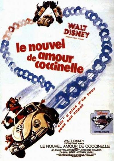 L'affiche de Le nouvel amour de Coccinelle