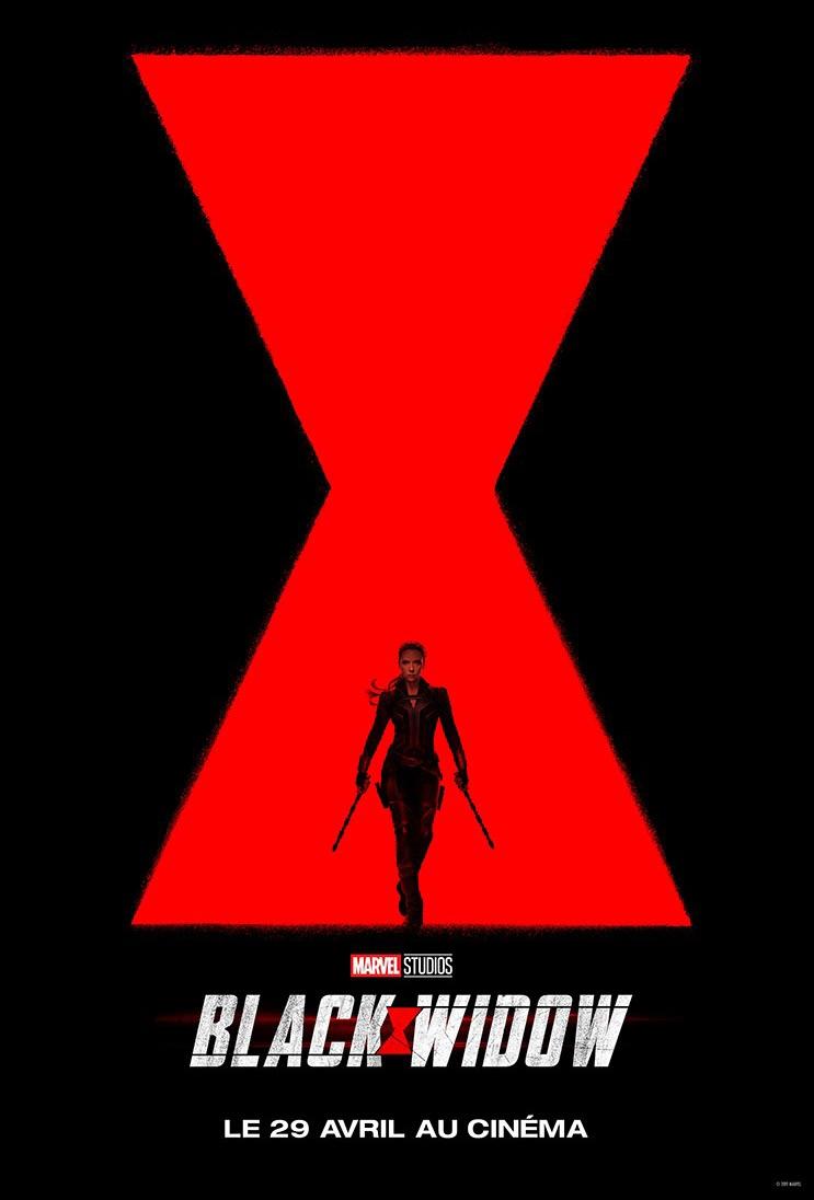 L'affiche de Black Widow