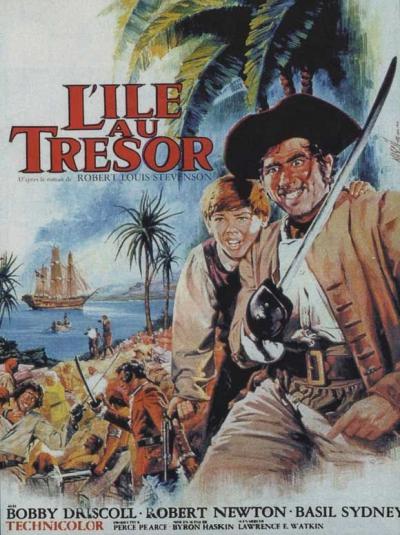 L'affiche de L'île au trésor