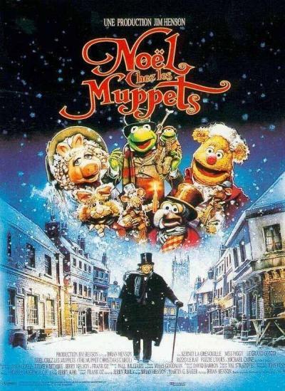L'affiche de Noël chez les Muppets