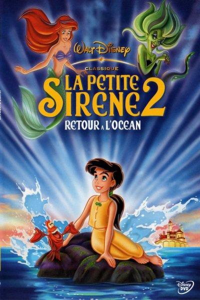 L'affiche de La Petite Sirène 2: retour à l'océan
