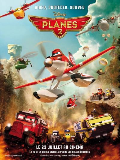L'affiche de Planes 2