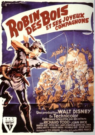 L'affiche de Robin des Bois et ses joyeux compagnons