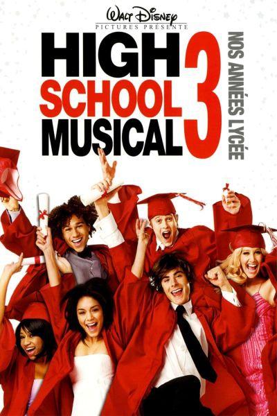 L'affiche de High School Musical 3: Nos années lycée
