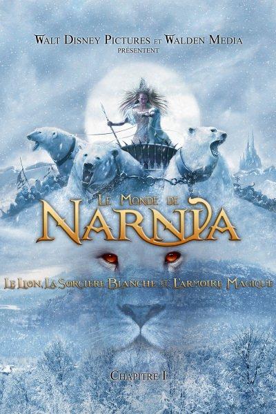 L'affiche de Le monde de Narnia - Chapitre 1: Le lion, la sorcière blanche et l'armoire magique