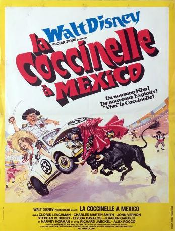 L'affiche de La coccinelle à Mexico