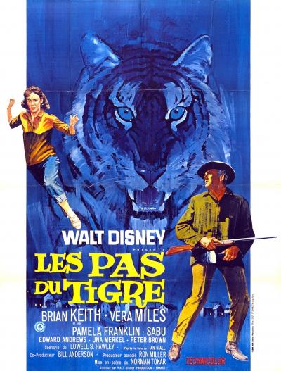 L'affiche de Les pas du tigre