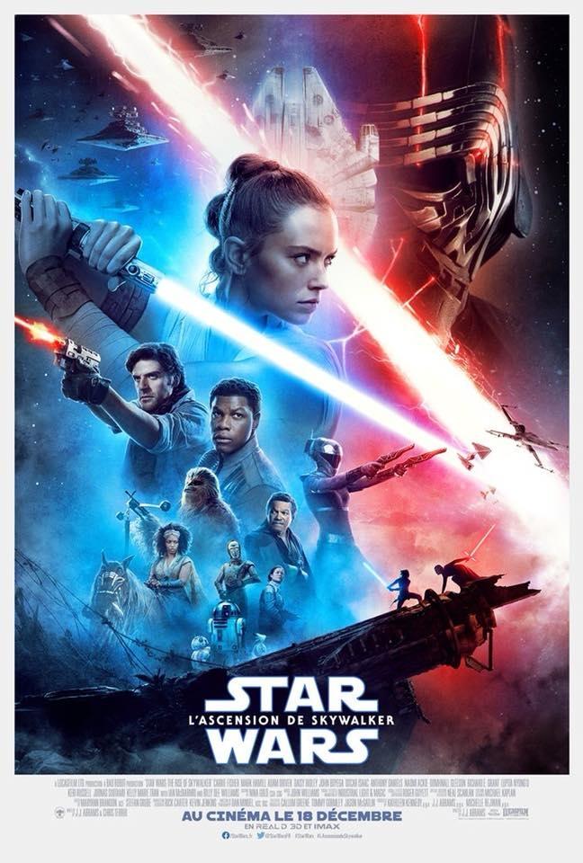 L'affiche de Star Wars: L'Ascension de Skywalker