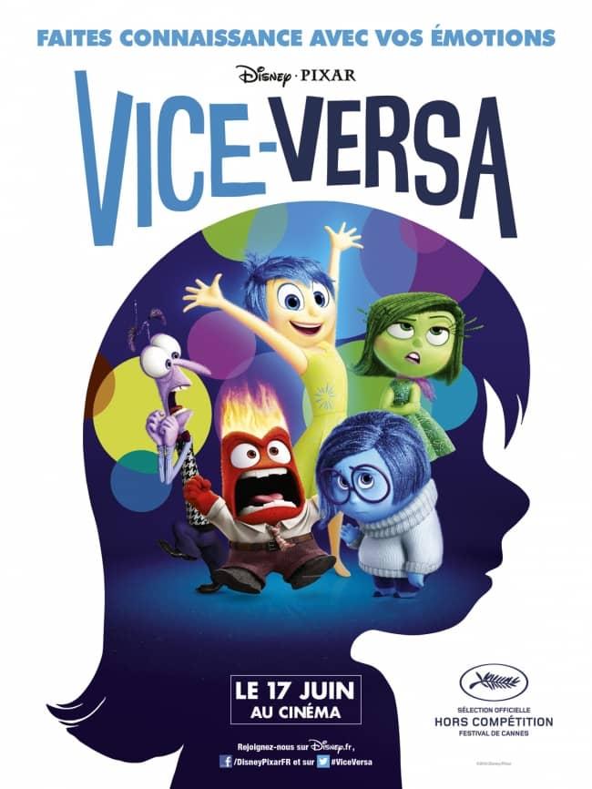 L'affiche de Vice-Versa