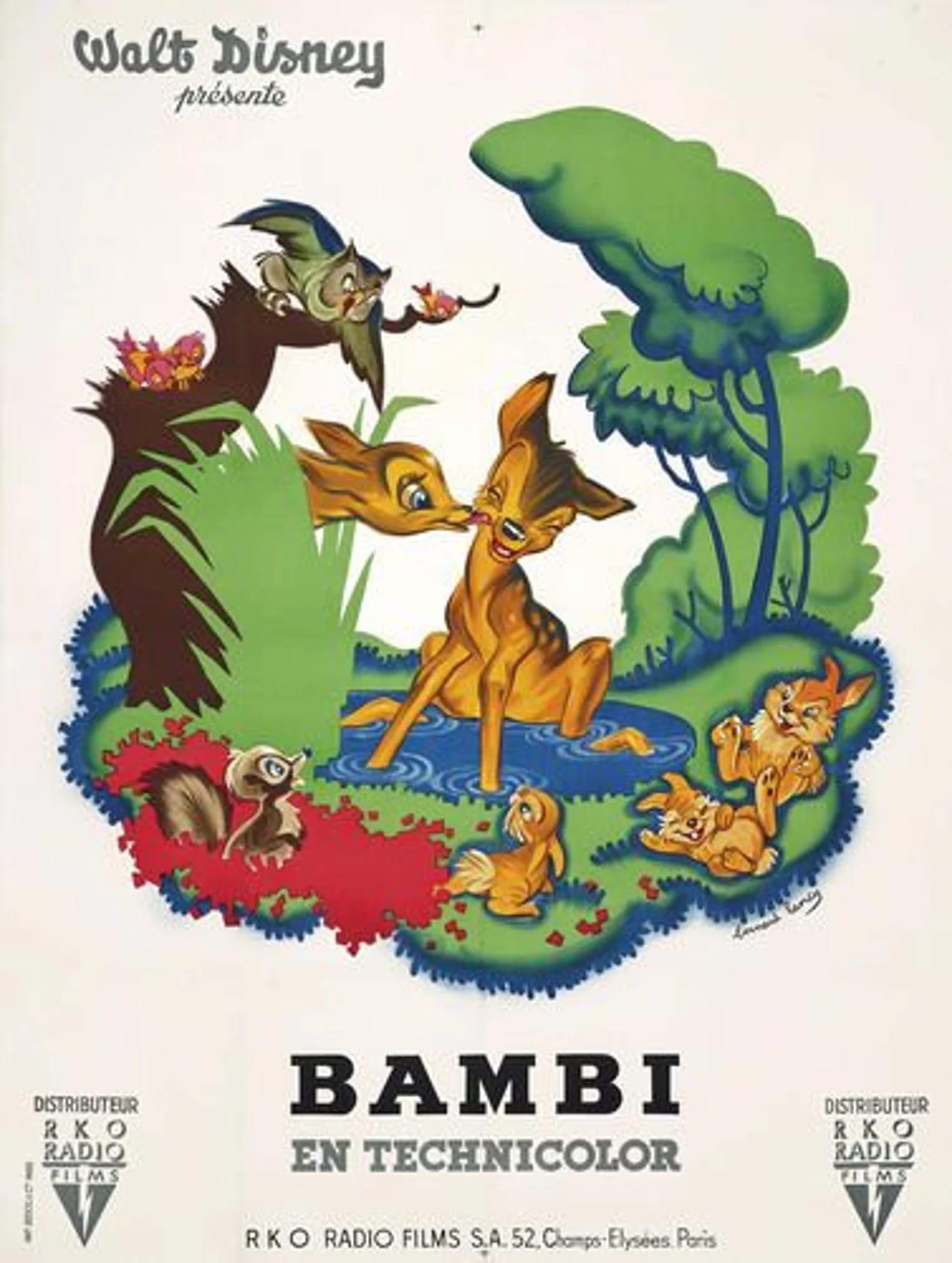 L'affiche de Bambi