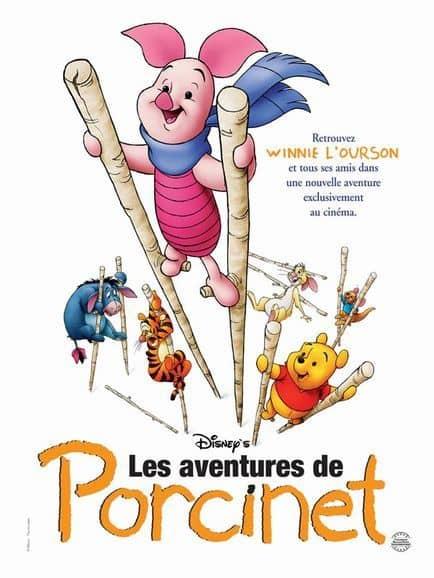 L'affiche de Les Aventures de Porcinet