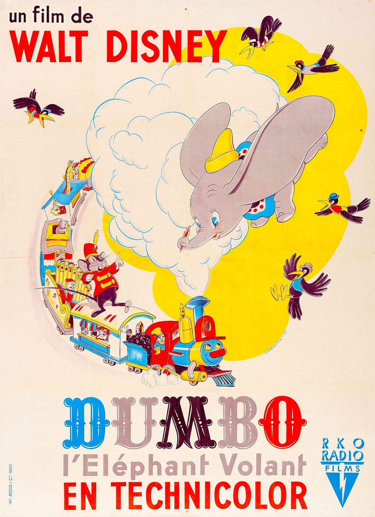 L'affiche de Dumbo