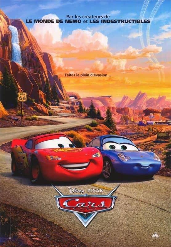 L'affiche de Cars - Quatre roues
