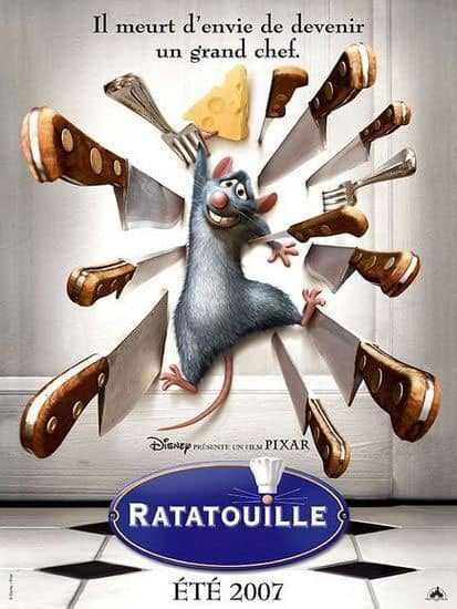 L'affiche de Ratatouille